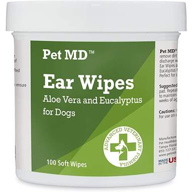 PetMD Dog Ear Cleaner Wipes