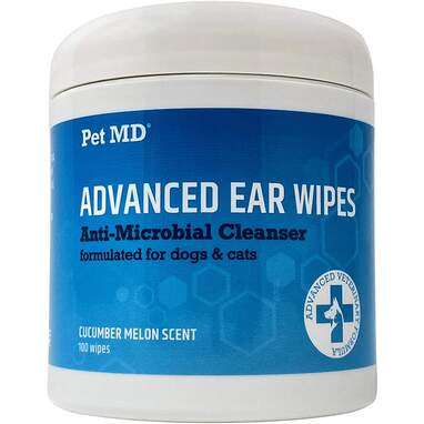 PetMD Cat and Dog Advanced Ear Wipes