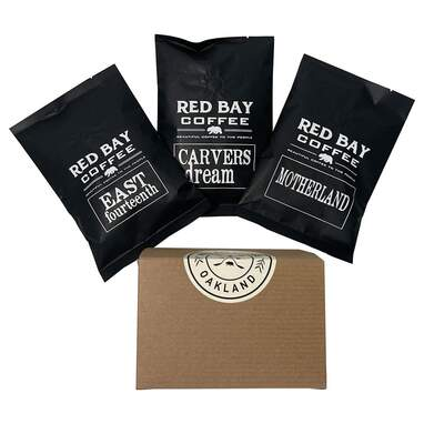 Red Bay Motherland 3-Pack of Whole Coffee BeansGift Collection