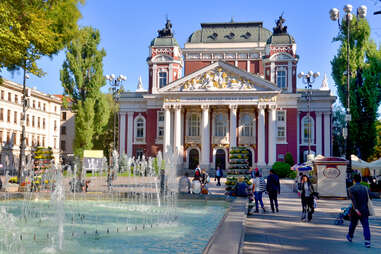 Ivan Vazov National Theatre in Sofia, Bulgaria