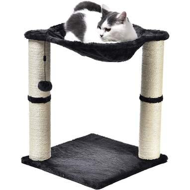 Amazon Basics Cat Condo Tree Tower with Hammock Bed