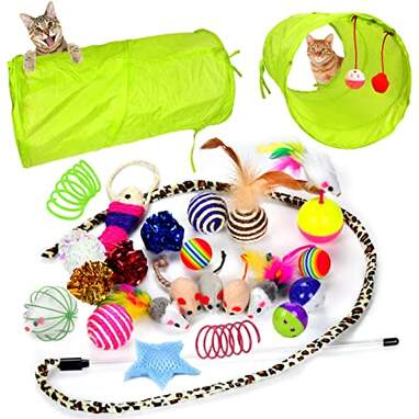 Youngever 24 Cat Toys Assortment