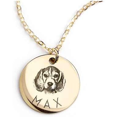 MignonandMingnon Custom Dog Necklace