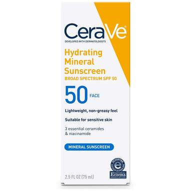 CeraVe 100% Mineral Sunscreen