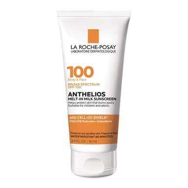La Roche-Posay Anthelios Melt-In Milk Body & Face Sunscreen Lotion