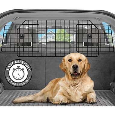 Rabbitgoo Dog Car Barrier