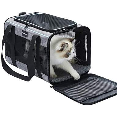 Vceoa Airline Approved Soft-Sided Travel Carrier