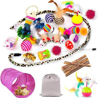 Mibote 30-Piece Assorted Toys