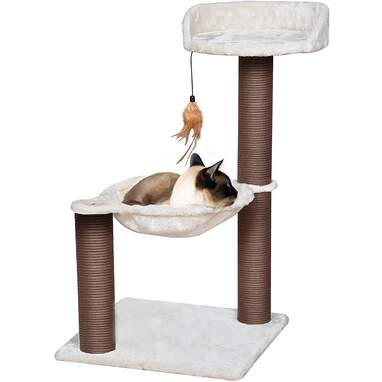Catry Cat Tree with Feather Toy