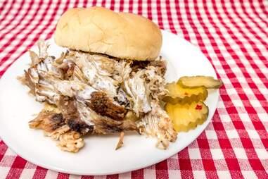 alabama barbecue sandwich