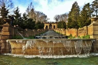 Meridian Hill Park fountain