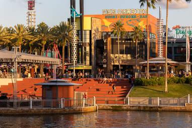 The Cowfish restaurant at Universal CityWalk in Florida