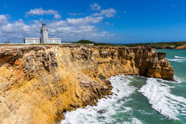 Los Morillos Lighthouse at Cabo Rojo, Puerto Rico