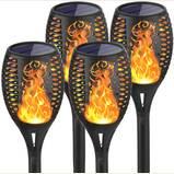 Bonashi Solar Torch Lights Outdoor