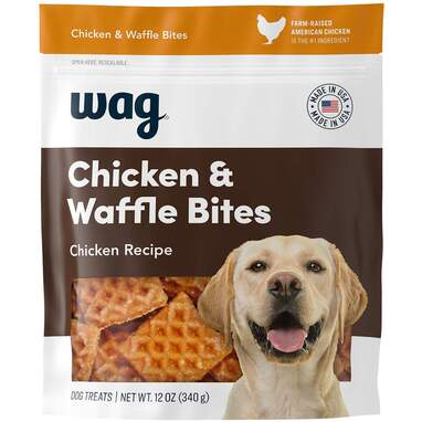 Wag Chicken and Waffle Bites