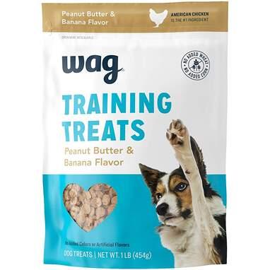 Wag Peanut Butter & Banana Training Treats