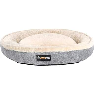 Feandra Donut Dog Bed, 22-Inch