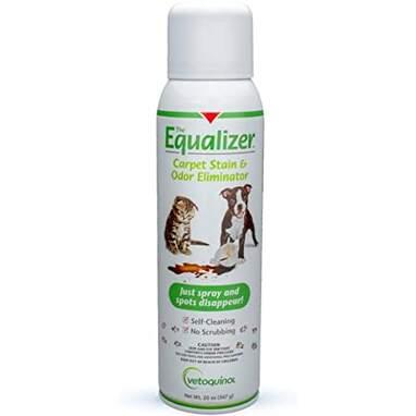 Vetoquinol Equalizer Pet Carpet Cleaner, Stain Remover & Odor Eliminator