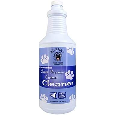 Bubbas Super Strength Concentrate Pet Odor Eliminator Carpet Shampoo