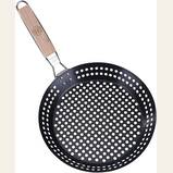 Grillers Choice Grill Basket - Large Non-Stick Commercial Basket with Handle