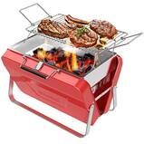 Supsiah Charcoal Barbecue Grill - Portable Vintage Grill
