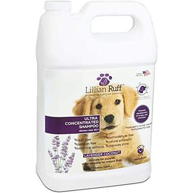 Lillian Ruff Professional Dog Shampoo (1 Gallon)