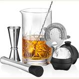 Crystal Cocktail Mixing Glass Set