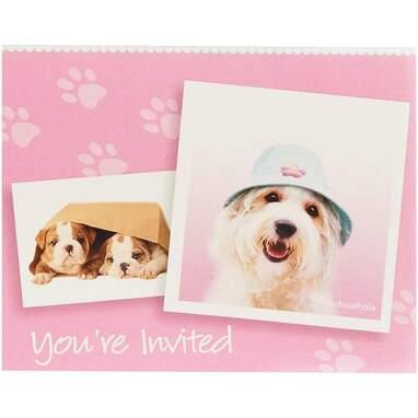 BirthdayExpress Rachel Hale Dog Invitations