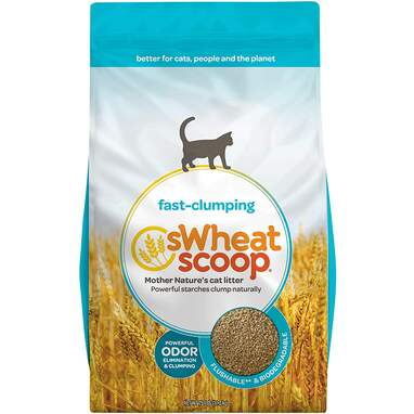 sWheat Scoop Fast-Clumping Litter