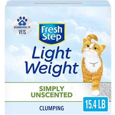 Fresh Step Light Weight Cat Litter