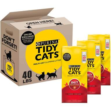Purina Tidy Cats 24/7 Performance Clumping Litter
