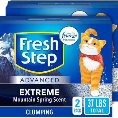 Fresh Step Advanced Extreme Clumping Litter