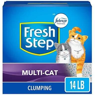 Fresh Step Multi-Cat Clumping Litter