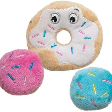 Petstages Donut Catnip Crinkle Toys
