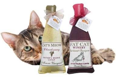 Alice's Cottage Wine Me Up Catnip Toys