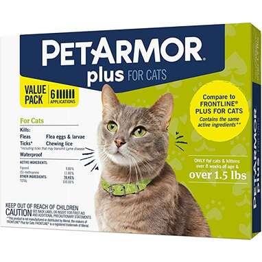 PetArmor Plus for Cats