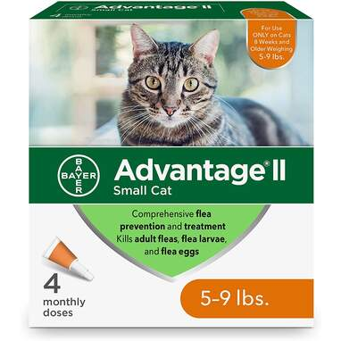 Advantage II for Small Cats