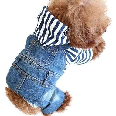 SLD Dog Denim Jumpsuit