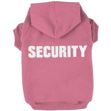BINGPET Security Hoodie