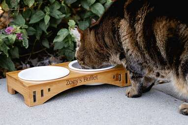 Cades and Birch Personalized Bowl Stand