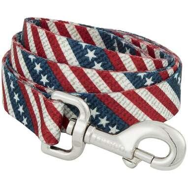 Frisco American Flag Polyester Dog Leash
