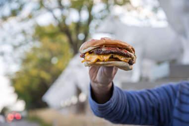 Kopp's Frozen Custard burgers