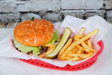 Triple XXX burger