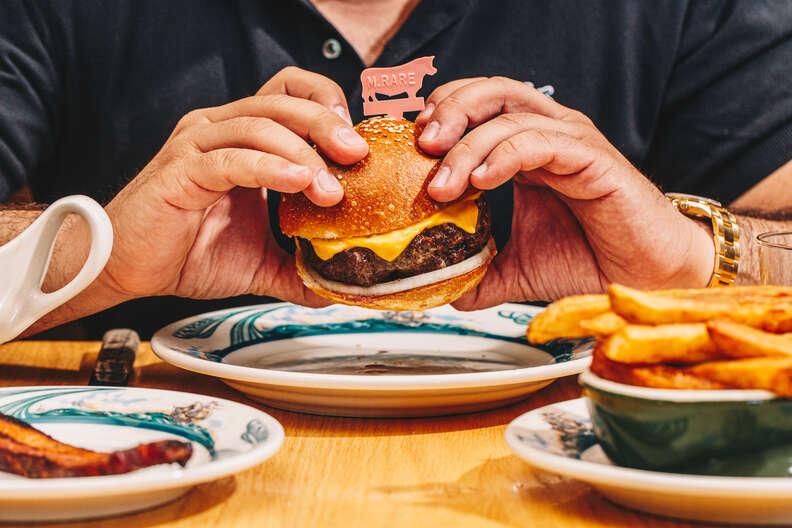 Peter Luger burger