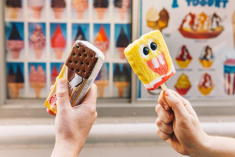 ice cream truck treats