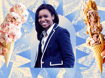 maya warren ice cream scientist job stem