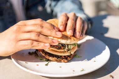 akua kelp snacks seaweed seafood ocean eating vegan burger