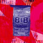 B&B Charcoal All Natural Hickory Lump Charcoal