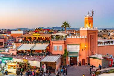 Jemaa el-Fna Square, Marrakesh, Morocco