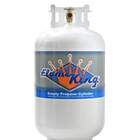 Flame King 30 lbs. Empty Propane Cylinder with Overfill Protection Device Valve